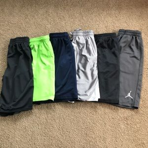 Other - 6 pairs of boys athletic shorts, all size 10/12